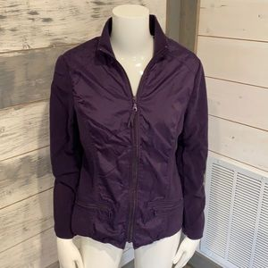 Coldwater Creek jacket in beautiful eggplant color